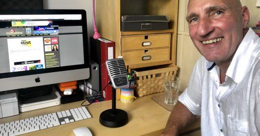 Christoph Lemmer im RADIOSZENE-Podcast (Bild: ©Ulrich Köring)