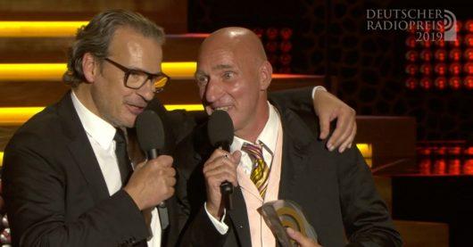Ralf Zinnow und Christoph Lemmer (Bild: ©Deutscher Radiopreis)