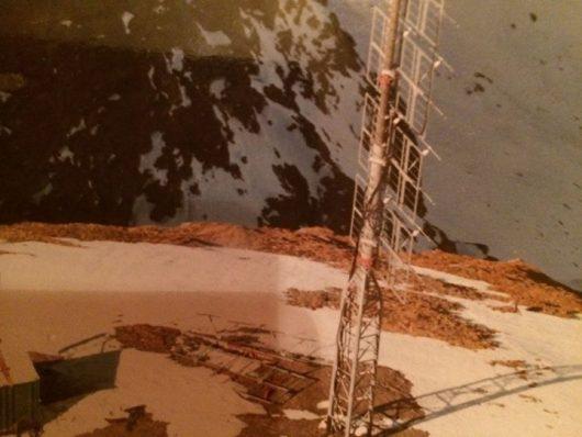 Sendeanlage von Radio Brenner auf der Flatschspitze (Hubschrauber-Bild: ©Peter Niedner)