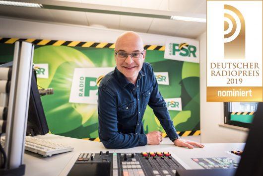 Steffen Lukas nominiert für den deutschen Radiopreis (Bild: ©Radio PSR)