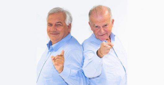 Wolfgang Fellner und Rudi Klausnitzer (Bild: ©Harald Artner/MGÖ)