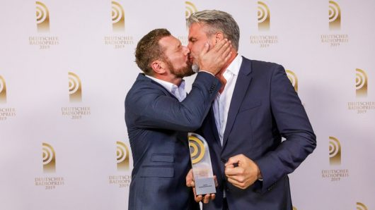 Andreas Kuhlage und Jens Hardeland (Bild: ©Deutscher Radiopreis)