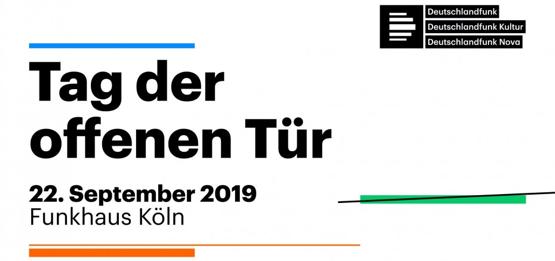 25 Jahre Deutschlandradio: Tag der offenen Tür am 22. September in Köln