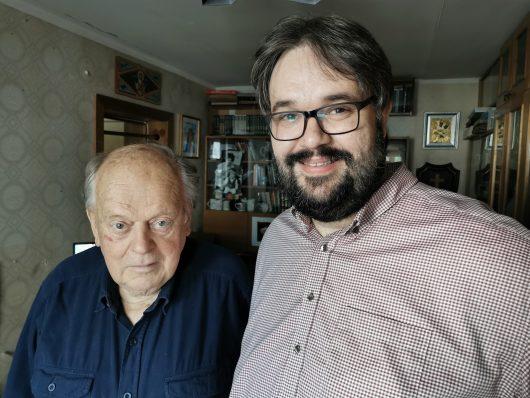 Stanislaw Schuschkewitsch und Christian Milling (Foto: Christian Milling privat)