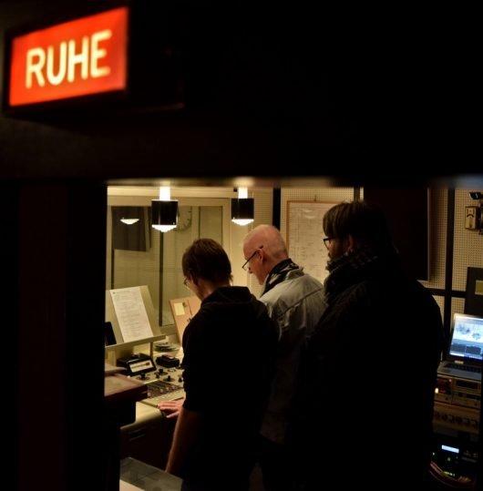 Stefan Ebertshäuser, Ulrich Bessler und Christian Milling in der Regie (Bild: ©Eifeler Radiotage / Daniel Kähler)