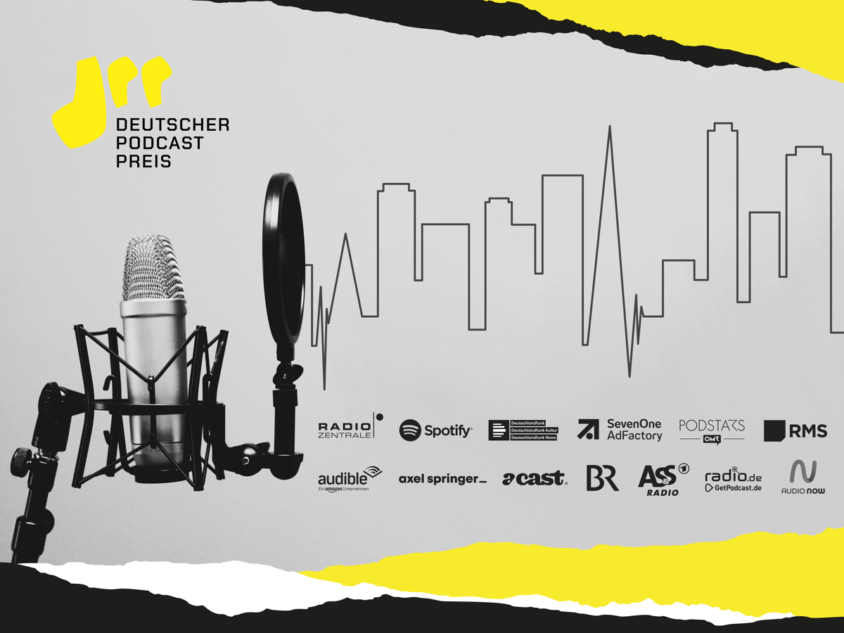 Deutscher Podcast Preis (Bild: ©Radiozentrale)