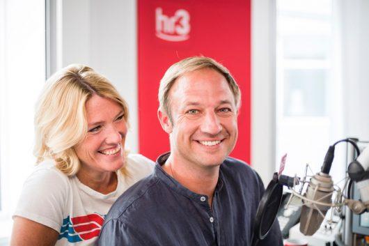 Tanja Rösner und Tobi Kämmerer (Bild © hr/Niels Burock