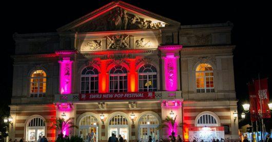 Das Theater Baden-Baden während des SWR3 New Pop Festivals 2019. (Bild: ©SWR/Bjoern Pados)