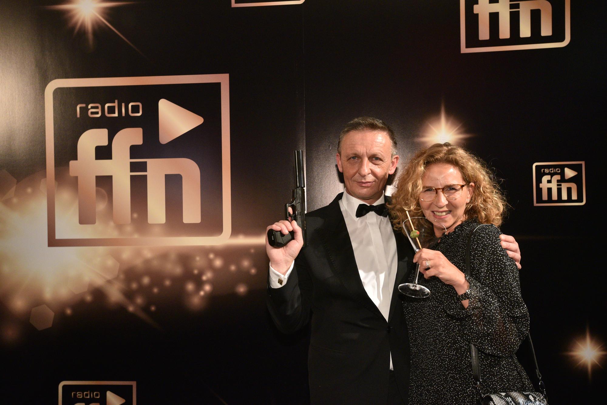 James Bond; Marianne Bullwinkel, Sprecherin der GF, RMS (Bild: ©ARP/SCHEFFE)