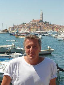 Alexander Tauscher an der Istrischen Küste (Bild: Privatarchiv)