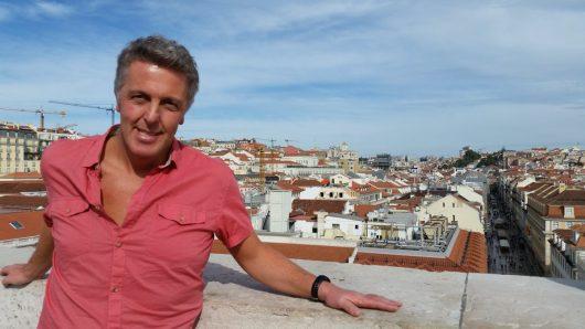 Alexander Tauscher in Lissabon (Bild: Privatarchiv)