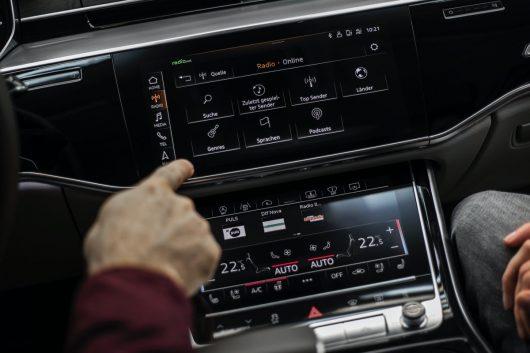 Audi e-tron Hybrid-Radio (Bild: ©Audi)