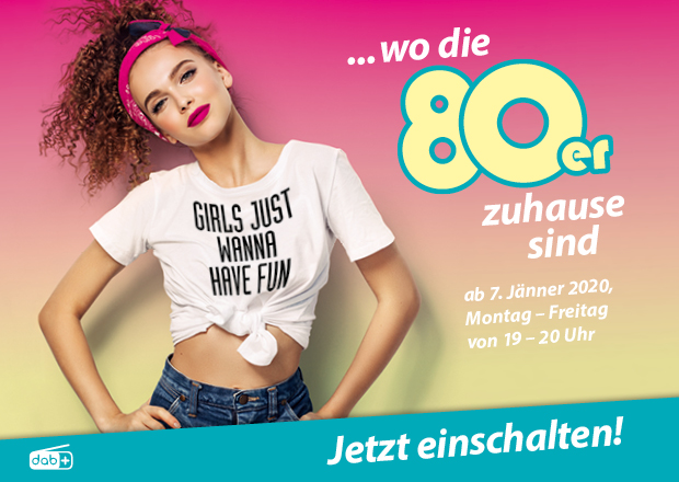 Die 80er bis 8 – die große Radio Arabella 80er-Show (Bild: ©Radio Arabella)