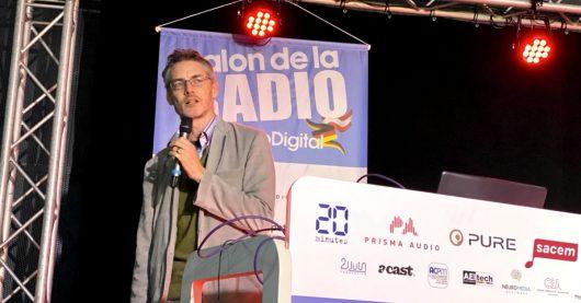 James Cridland auf der European Radio Show 2020 in Paris (Bild: ©Christopher Deppe)