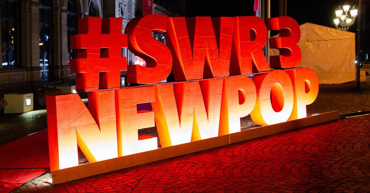 """""""A Greener Festival"""" (AGF) hat SWR3 für den Umbau des 25. SWR3 New Pop Festivals in ein nachhaltiges Festival ausgezeichnet. (Bild: ©SWR/Bjoern Pados)"""
