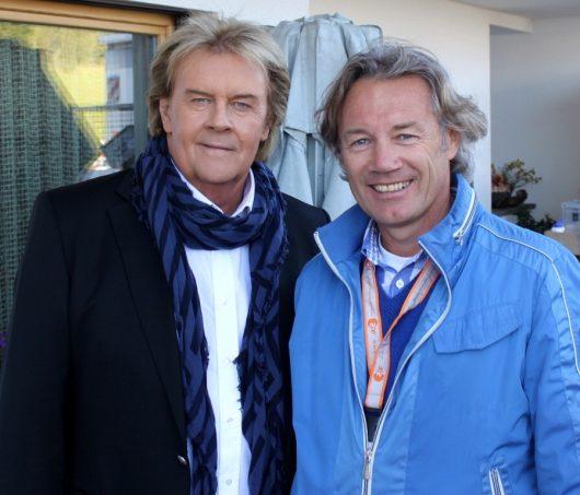 ...mit Howard Carpendale Peter Obexer mit Giorgio Moroder (Bild: ©Peter Obexer)