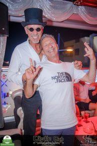 Willi Zwingmann feiert mit Freunden im Castle Club seinen 60. Geburtstag