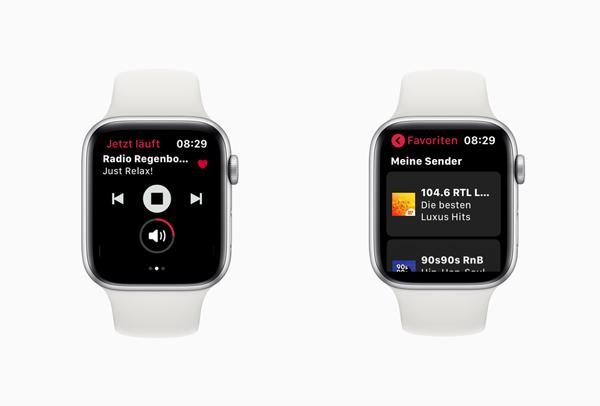 Der Radioplayer für Apple Watches mit eSIM