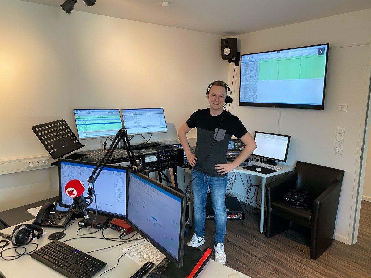 Alex Kühl im Home Studio (Bild: Bördel Media)