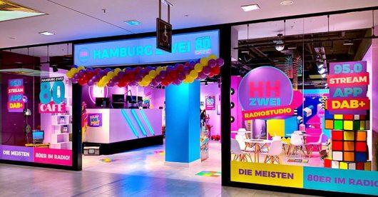 HAMBURG ZWEI-80er Café im EKZ Hamburger Meile (Bild: ©HAMBURG ZWEI)