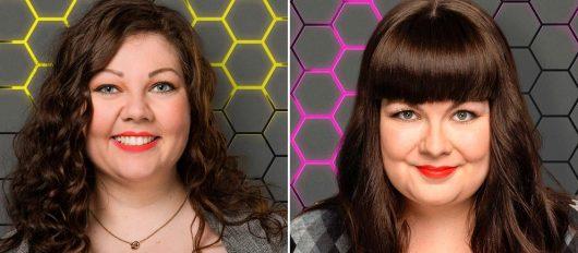 Die YOU FM Moderatorinnen Karen Scholz (li.) und Kadda Lentz am Weltfrauentag (Bild: © HR/YOU FM)