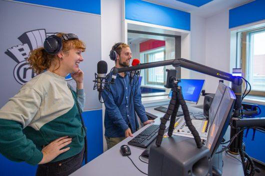 Studio von Radio NJOY (Bild: ©markushechenberger.net)