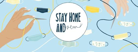 Stay Home and Sew (Bild: ©bigFM)