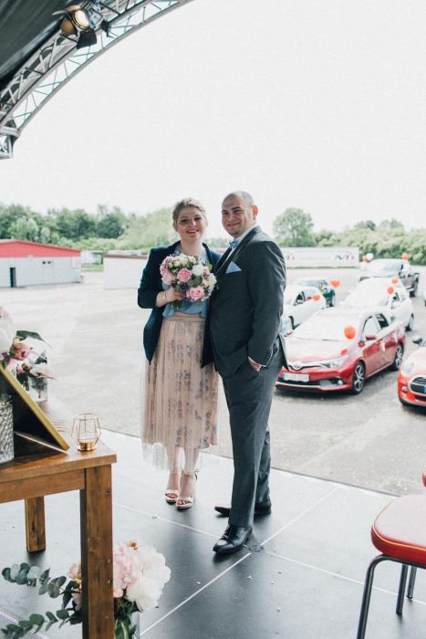 Hochzeit Autokino mit Gong 96.3 (Bild: ©Urszula Broda)