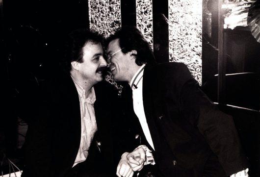 Jürgen Karney und Wolfgang Lippert (Bild: privat)
