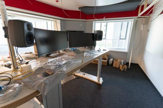 Neues Sendestudio im Aufbau (Bild: ©Radio Gong 96,3)