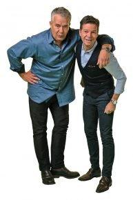 Michael Wirbitzky und Sascha Zeus (Bild: ©Anne Bauer/SWR3)