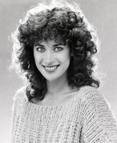 Sabine Sauer in den 80ern bei BAYERN3 (Bild: privat)