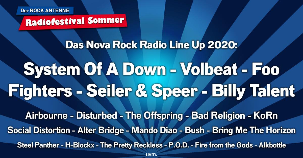 """ROCK ANTENNE bringt """"Nova Rock"""" ins Radio"""