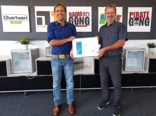 Alexander Koller und Uwe Denzler (Bild: ©Funkhaus Nürnberg)