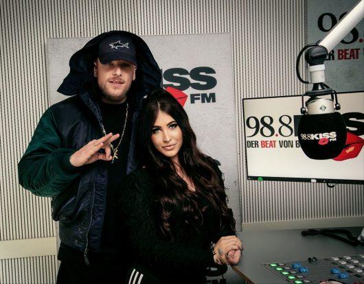 BONEZ MC, Alisha, Studio (Bild: ©KISS FM)