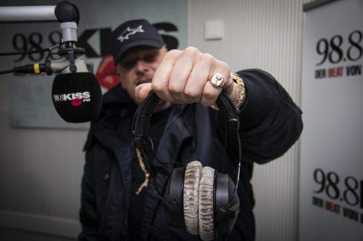 BONEZ MC, Studio, (Bild: ©KISS FM)