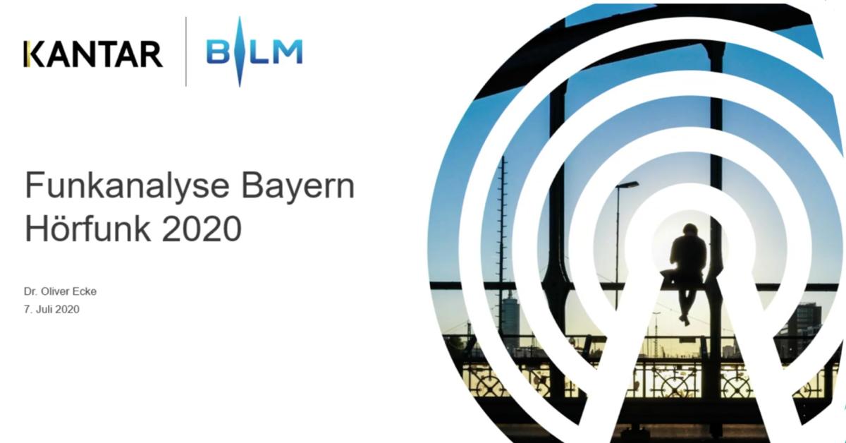 Funkanalyse Bayern 2020