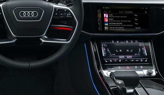 Radio.de Carplay: radioNET im Audi A8