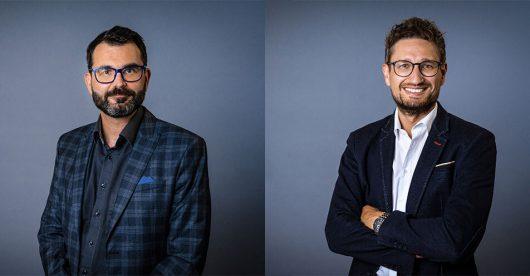Philipp Melzer und Jörg Muthsam (Bild: ©Antenne Bayern)