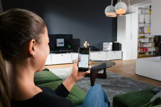 radio.de. auf Chromecast-TV