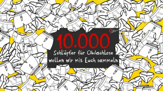 """Fritz-Aktion: """"10.000 Schlüpfer für Berlin"""""""