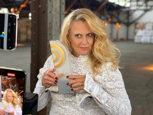 Barbara Schöneberger (Bild: ©Deutscher Radiopreis 2020)
