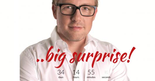 """Jan Herold verspricht eine """"...big surprise!"""" im September 2020"""