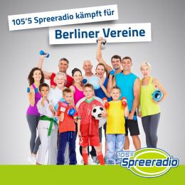 105'5 Spreeradio kämpft für Berliner Vereine