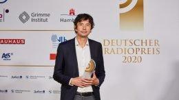 Deutscher Radiopreis 2020 - Sonderpreis des Beirats Sonderpreis des Beirats für Virologe Prof. Dr. med. Christian Drosten (Bild: © NDR/Morris Mac Matzen)