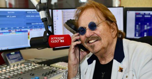 Frank Zander im Schlager Radio B2-Studio (Bild: ©Andreas Brandt)