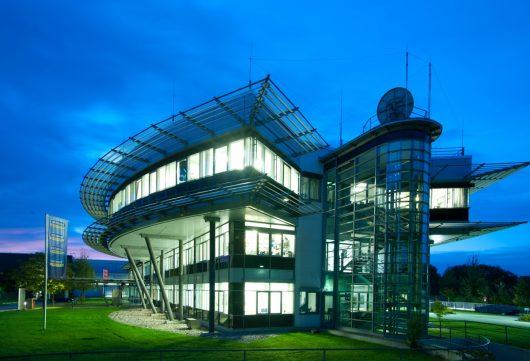 Audio-Entertainment-Haus der Unternehmensgruppe ANTENNE BAYERN in Ismaning bei München
