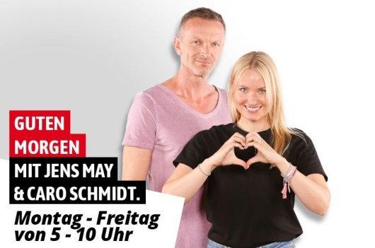 Guten Morgen mit Jens May und Caro Schmidt (Bild: ANTENNE THÜRINGEN)