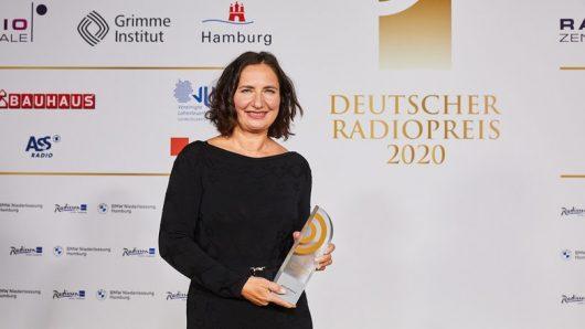Kornelia Kirchner (Bild: ©Deutscher Radiopreis)