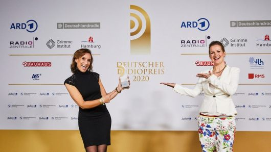 Nicole von Wagner und Yvonne Fricke ( (Bild: ©Deutscher Radiopreis)